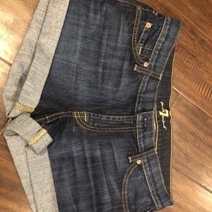 7 For All Mankind shorts - size 28